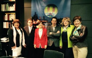 Reunión de BIPE con Izaskun Bilbao